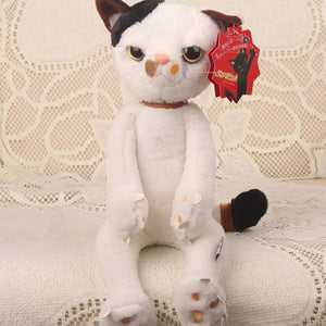 Funny Angry Cats Neko Stuffed Plush Paw Soft Doll Gifts