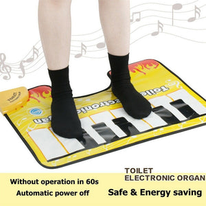 Toilet Piano 3 Music Mode Waterproof Anti Slip Bathroom Mat