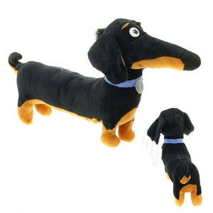 Cartoon Dachshund Sausage Dog Plush Stuffed Toys Doll