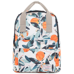 Nami Orange Tree Pattern Japan Style School Bag Backpack