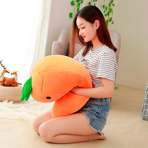 Super Soft Carrot Large Size Plush Doll Stuffed Pillow
