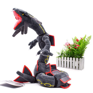 Mega Rayquaza and Rayquaza Plush Stuffed Doll Gift