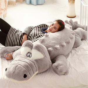 Giant Crocodile Lying Soft Plush Stuffed Pillow Dolls