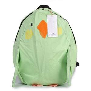 Cute Parrot Bird Shape Backpack School Bag for Teenage Girl