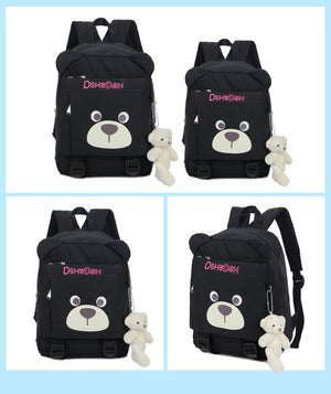 Cute Bear Face with Ears Children School Book Bag School Bag