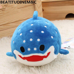 Cute Fatty Ocean Sea Animals Plush Stuffed Doll Pillow