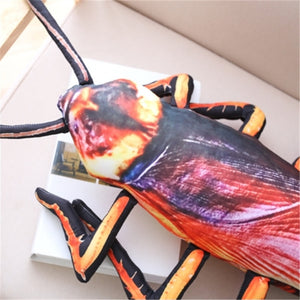 Giant Simulation Cockroach Insect Plush Stuffed Toy Doll ญรสสนไ