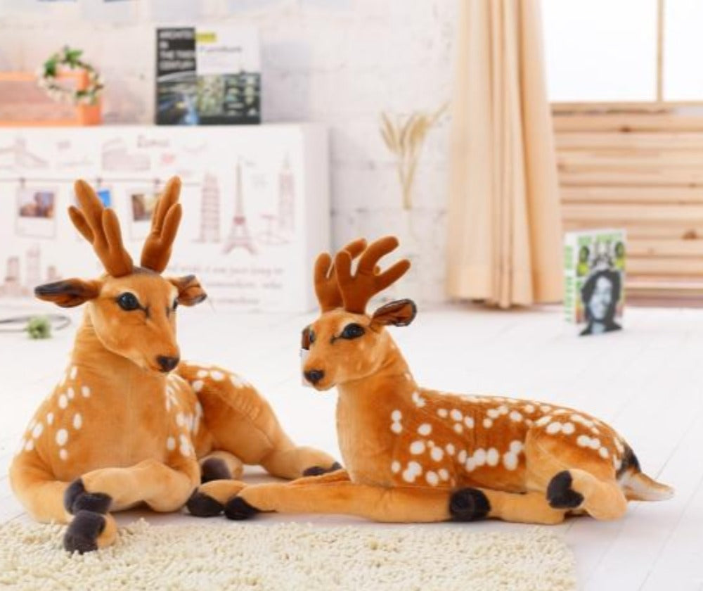 Simulation Sika Deer Large Size Plush Stuffed Doll Home Decor Gift
