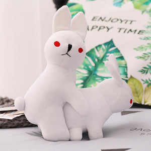 Funny Rabbit Having Sex Plush Stuffed Doll Humor Gift