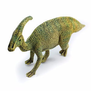 Green Parasaurolophus Dinosaur Model Toy Figures