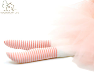 Cute Luxury Ballerina Bunny Rabbit Girl Plush Stuffed Doll Gift