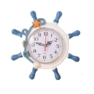 Anchor Ship Sea Sailing Wall Clock