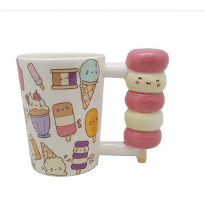 Cute 3D Ice Cream Popsicle Shape Cup Handle Mug Gift