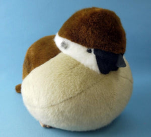 Lifelike Sparrow Bird Plush Stuffed Dolls Pillow Toys