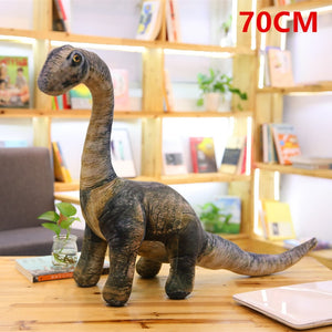 Simulation Jurassic Dinosaur Plush Stuffed Doll for Boys Kids Birthday Gift