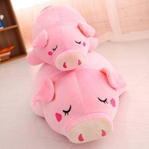 Cute Baby Pig Soft Cotton Plush Stuffed Doll Pillow
