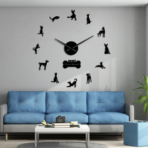 Ibizan Hound Large Frameless DIY Wall Clock Dog Lover Gift