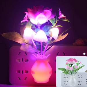 Colorful Flower LED Luminous Night Lights Lamp