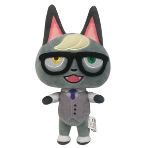 Raymond Two Eye Color Cat Animal Crossing Plush Stuffed Doll Gift