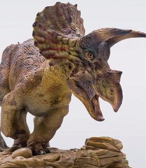 Triceratops With Pedestal Platform Dinosaur Model Figure with Box