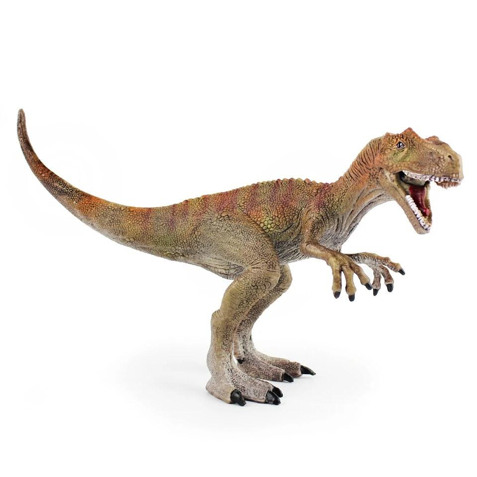 Allosaurus Dinosaur Plastic Model Action Toy Figures