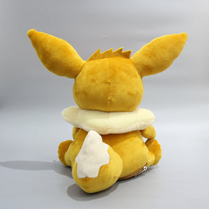 Cute Pokemon Reversible Eevee Transform into Egg Stuffed Plush Doll Pillow