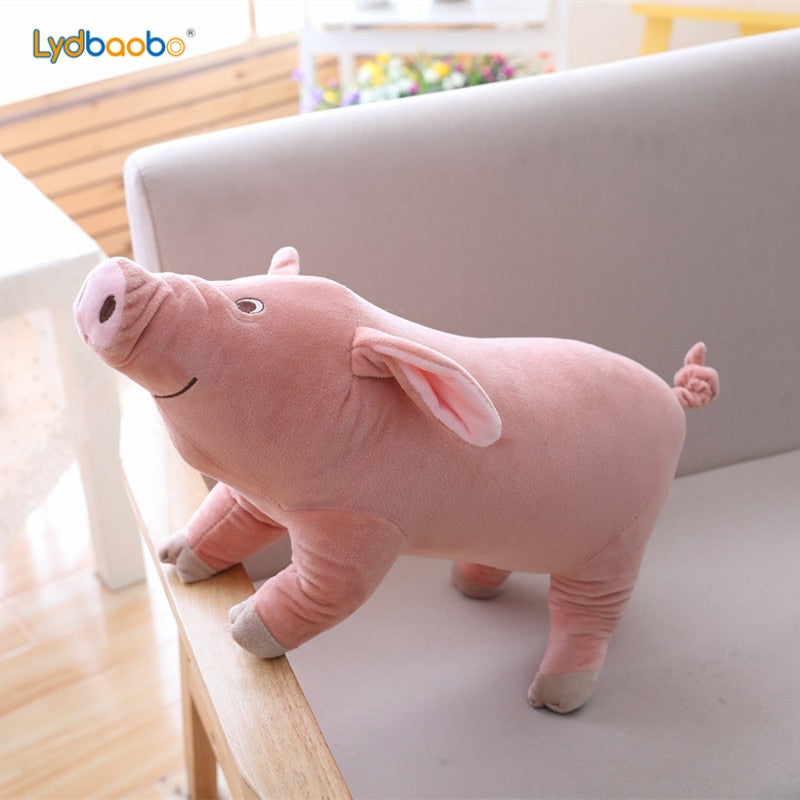 Cute Cartoon Pig Plush Toy Stuffed Soft Pig Doll for Children's Gift