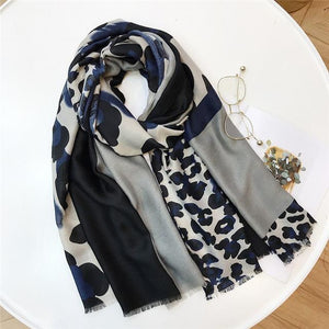 Leopard Luxury Design Wraps Women Scarves And Shawls