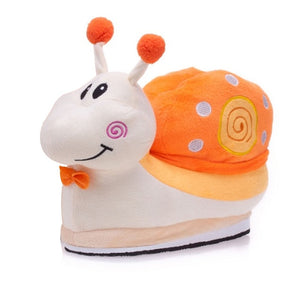 Cartoon Snail Comfortable home cotton Slipper Shoes
