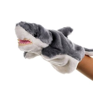 Cute Monster Animals Plush Doll Glove Hand Puppet
