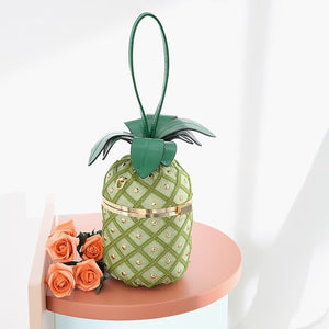 Luxury Tropical Pineapple Women Handbag