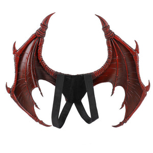Flying Dragon Dinosaur and Wing Kids Costume Cosplay