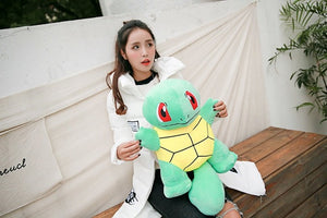 Giant Pokemon Bulbasaur Squirtle Charmander Large Size Plush Stuffed Doll