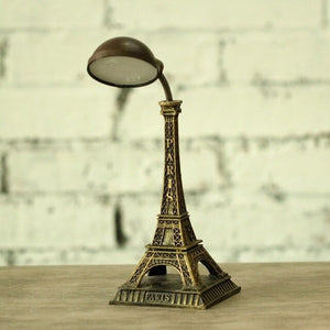 Modern Paris Eiffel Tower Rsein Night Light Lamp Home Decoration
