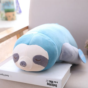 Cute Giant Sleeping Sloth Plush Stuffed Doll Pillow