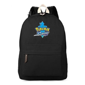 Pokemon Sword and Shield Canvas Backpack School Bag