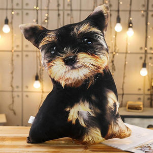 Cute Pet Dog Cat Shape 50cm Stuffed Doll Cushion Pillow