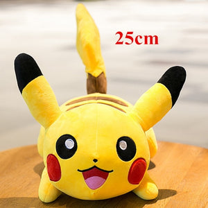 Cute Sleeping Pikachu Soft Plush Stuffed Doll Pillow Gift