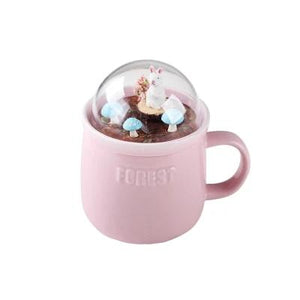Cute Cartoon FOrest Animal Zone Milk Ceramic Coffee Mug