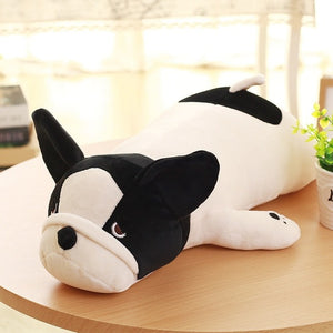 French Bulldog Lying Soft Plush Stuffed Dog Doll Pillows