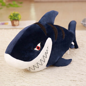 Giant Angry Sharks Large Stuffed Doll Pillows Cushion Toys