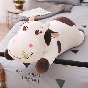 Cute Cow Cuddly Large Size Stuffed Plush Toy Doll
