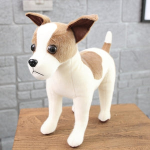 Simulation Puppy Dog Plush Stuffed Toy Gift for Dog Lovers
