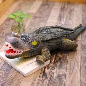 Realistic Crocodile Simulation Doll Plush Toy Pillow
