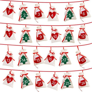 DIY Felt Wall Mounted Christmas Tree with Ornaments Decoration