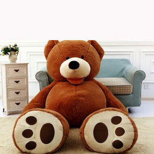 Giant Teddy Bear Coat Skin Only no Filling Soft Plush Toy Doll Gift