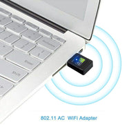 Wireless 600Mbps Wifi Adapter AC 2.4G 5G Built-in PCB Antenna USB Receiver Free Drive Antenna PC Computer Wireless Network Card