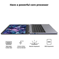 XIDU 14.1inch Laptop Intel E3950 Window10 Linux Support Touchscreen Notebook 1080P IPS with Backlit Keyboard Ultra Slim PC