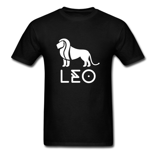 Leo Men's T-Shirt - black
