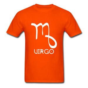 Virgo Men's T-Shirt - orange